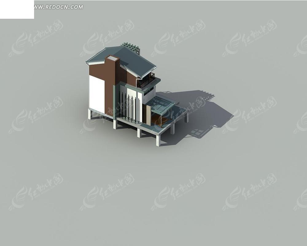 别墅3dmax模型
