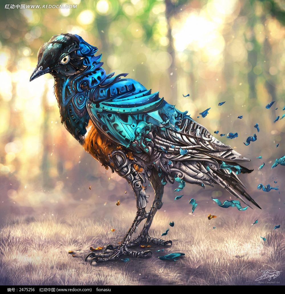 漫画 油画 科幻 梦幻 小鸟   动物 动物图片 动物照片 摄影图片