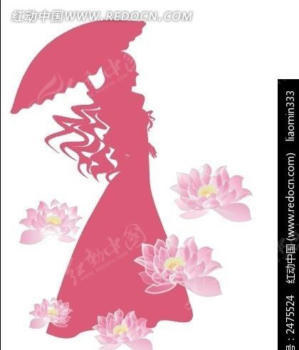三八节图片主题简笔画-三八妇女节素材PSD免费下载 编号2475524 红动网