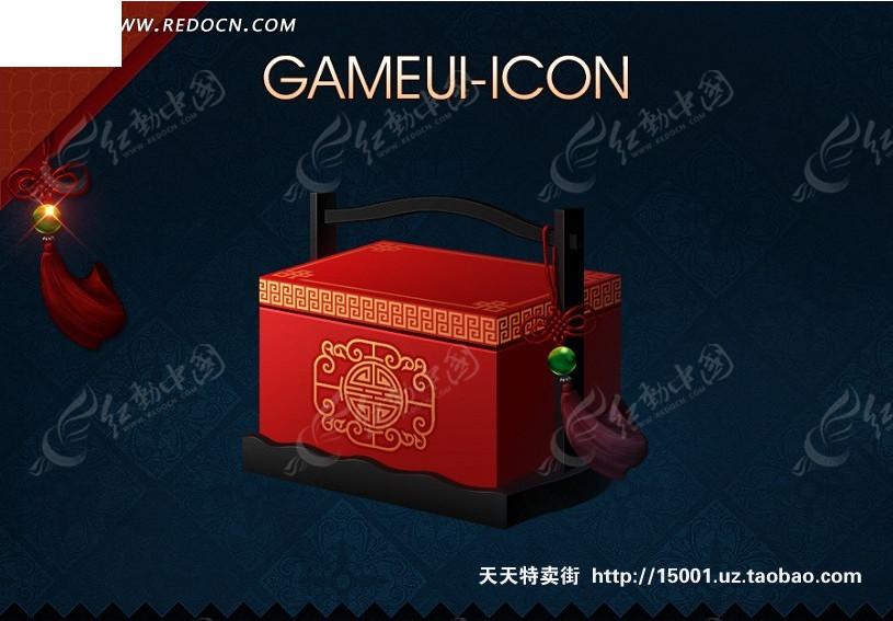 免费素材 psd素材 psd广告设计模板 包装设计 中国古代礼盒包装  请您