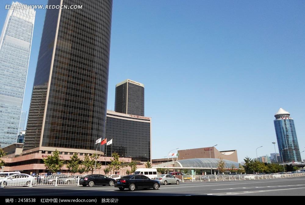 北京国贸大厦街区图片