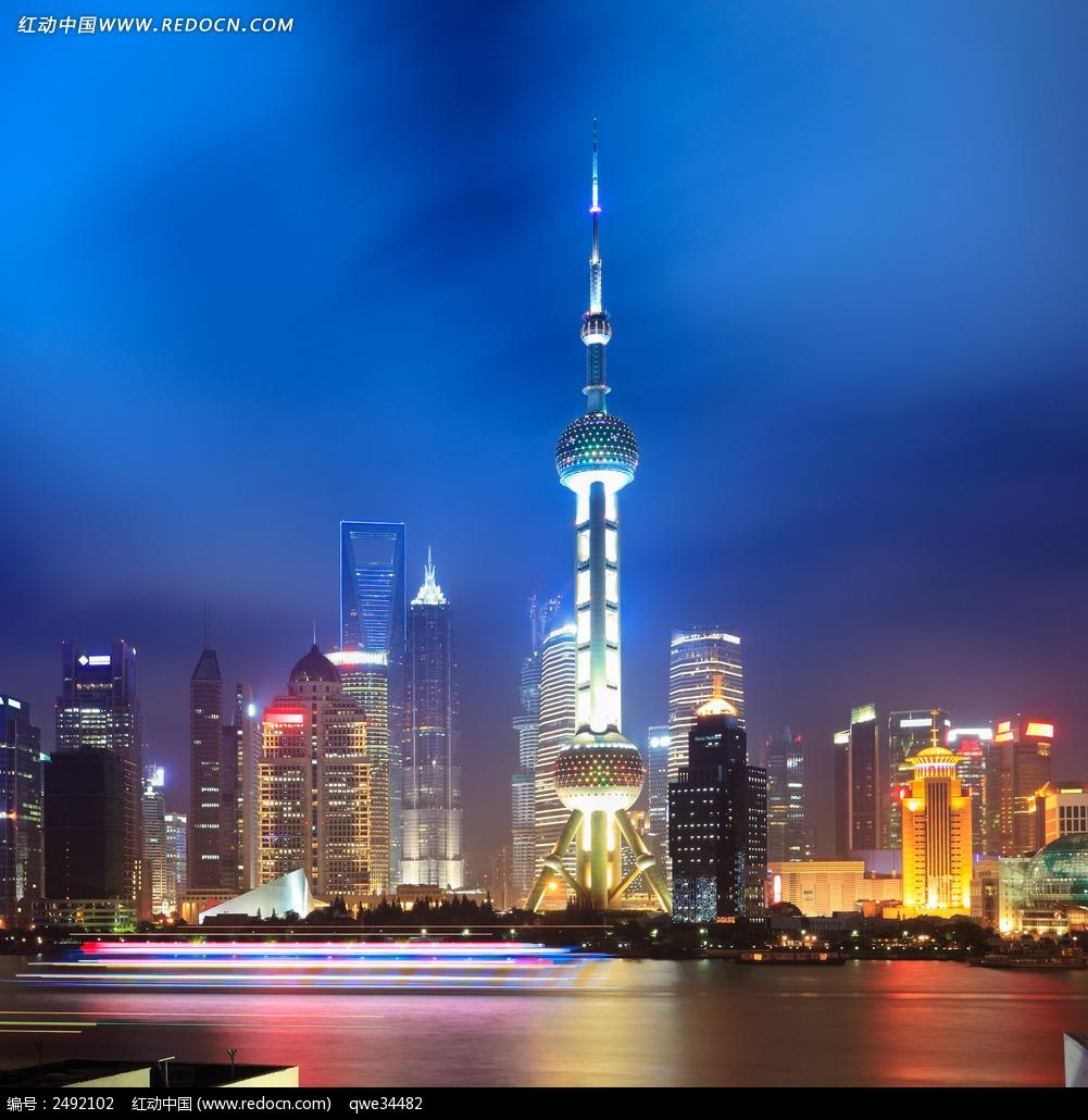 上海东方明珠塔_城市风光图片