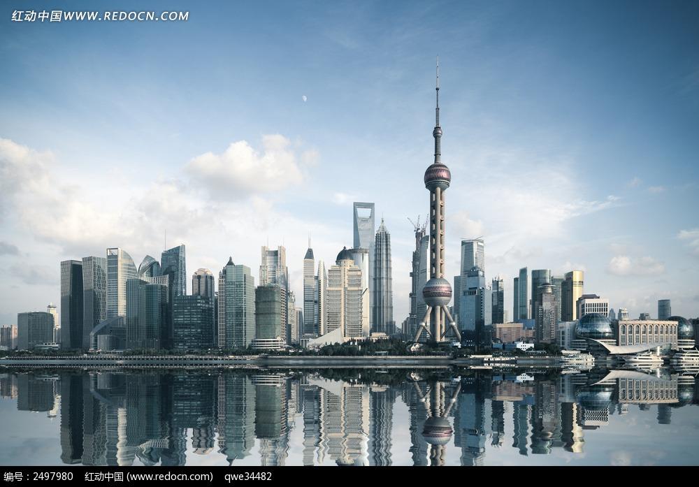 上海东方明珠塔建筑图片城市风光 环境居住