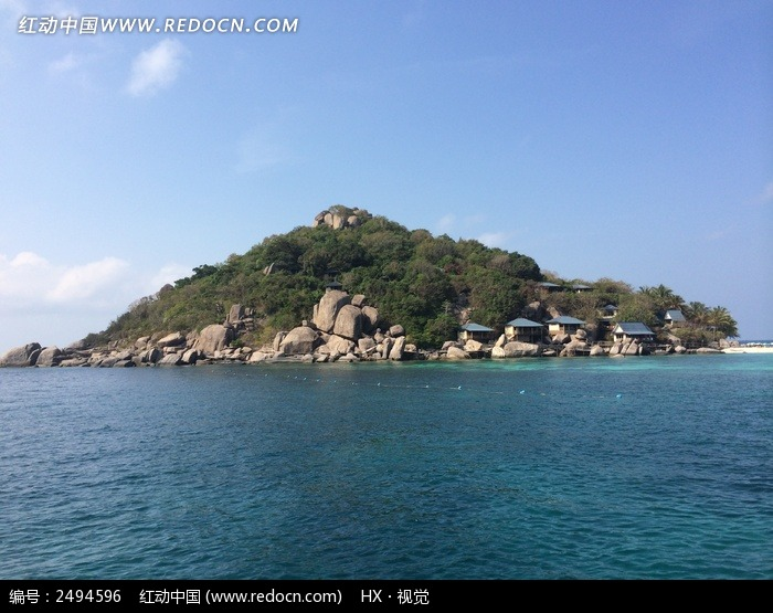 泰国南园岛岛屿风光图片