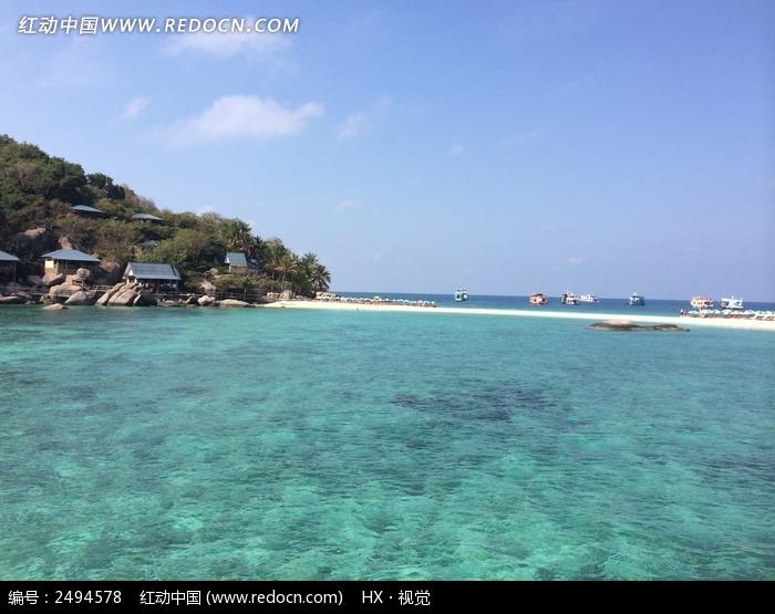 泰国南园岛海水风光