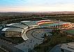 体育馆鸟瞰图3d模型设计