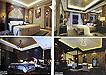 高雅奢华卧室3d渲染效果图