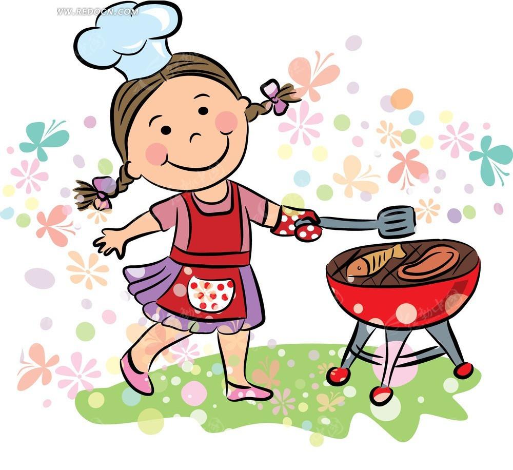 煮饭辣妈卡通头像