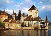 欧洲海边城堡