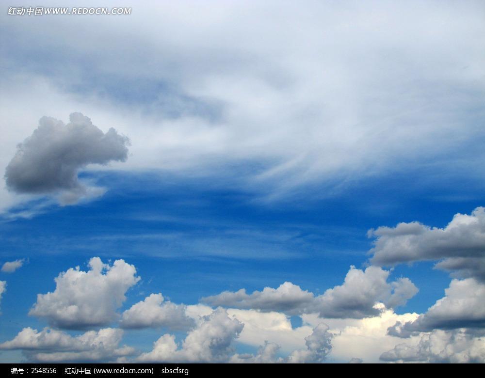 天空背景素材图片_自然风景图片