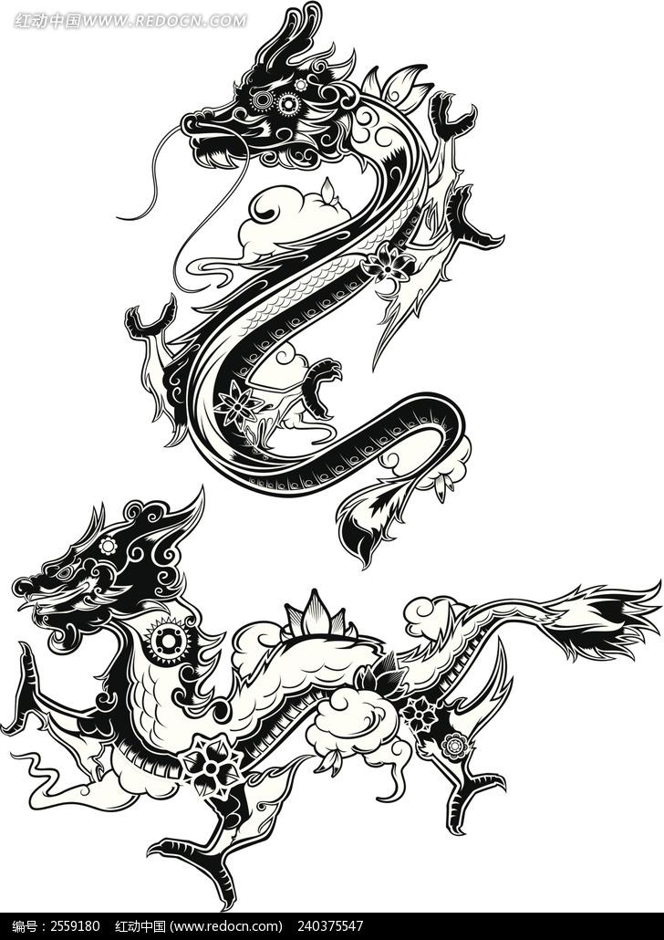 龙简笔画手绘