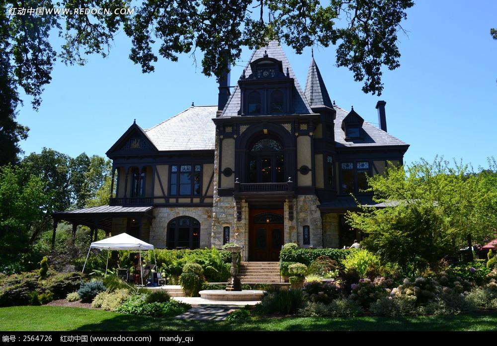 美国美式别墅建筑图片图片