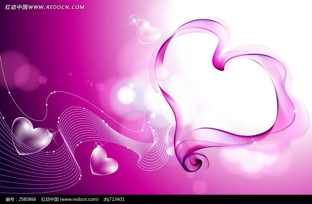 粉色爱心图片 底纹背景图片
