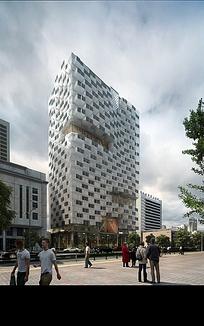 商业建筑效果图