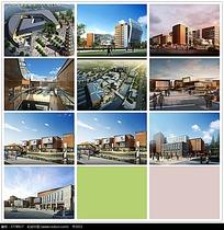 房地产规划设计图和建筑效果图max