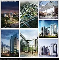 房地产规划图和建筑效果图max