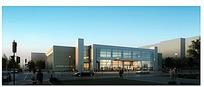 建筑外观设计效果图max