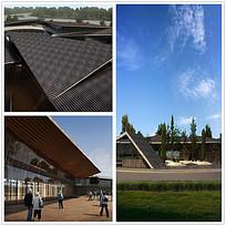 尖顶建筑设计效果图max
