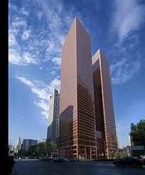 高楼大厦效果图max