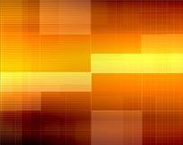 橙色金色方格背景视频