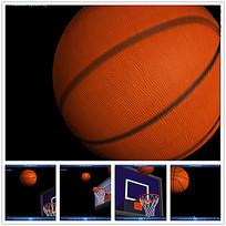 动态篮球投篮视频