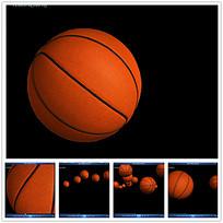 动态立体篮球视频