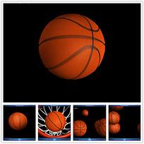 3D篮球入篮视频