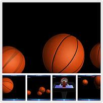 3D篮球动态视频