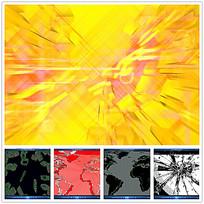 金色粒子爆炸背景视频