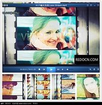 滤镜人物动感相册视频
