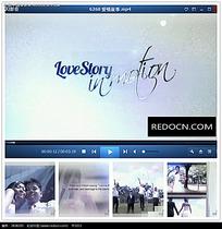 婚礼动感相册片头视频