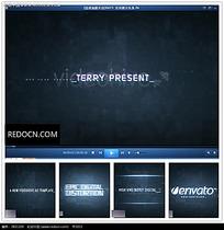 放光企业logo视频