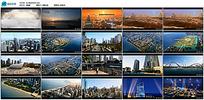 航拍城市风景宣传视频