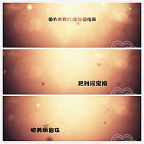 简约金色光芒婚礼庆典视频