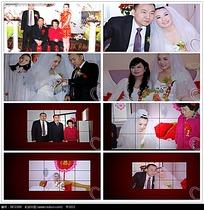 简约婚礼庆典屏幕视频