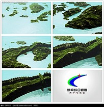 3D小岛湖水卫视宣传视频