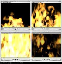 大火效果背景视频素材