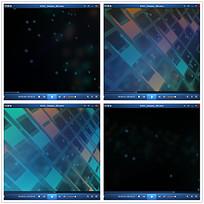 光效方格空间视频