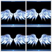 天使的翅膀婚礼视频素材