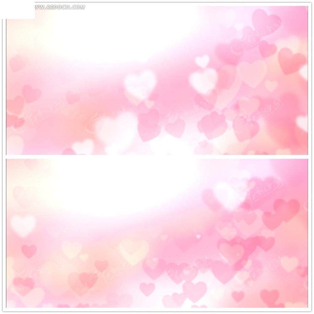 圣似色一视频_粉红色爱心背景视频