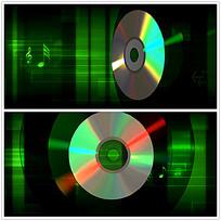动态碟片音符视频