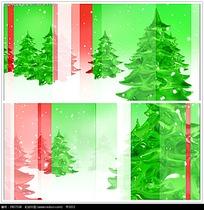 圣诞节彩色背景视频