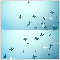 蝴蝶动画背景视频