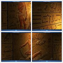 古埃及浮雕文字视频