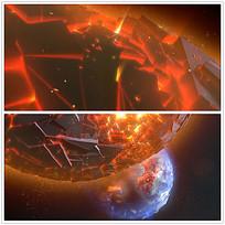 国外星球光效视频