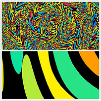 彩色抽象背景视频