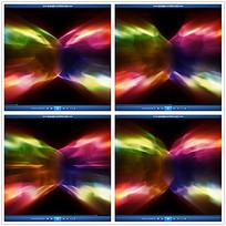抽象七彩光晕背景视频