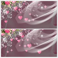 花纹光效背景视频