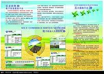 农业宣传三折页