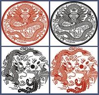 中国古典龙纹图案